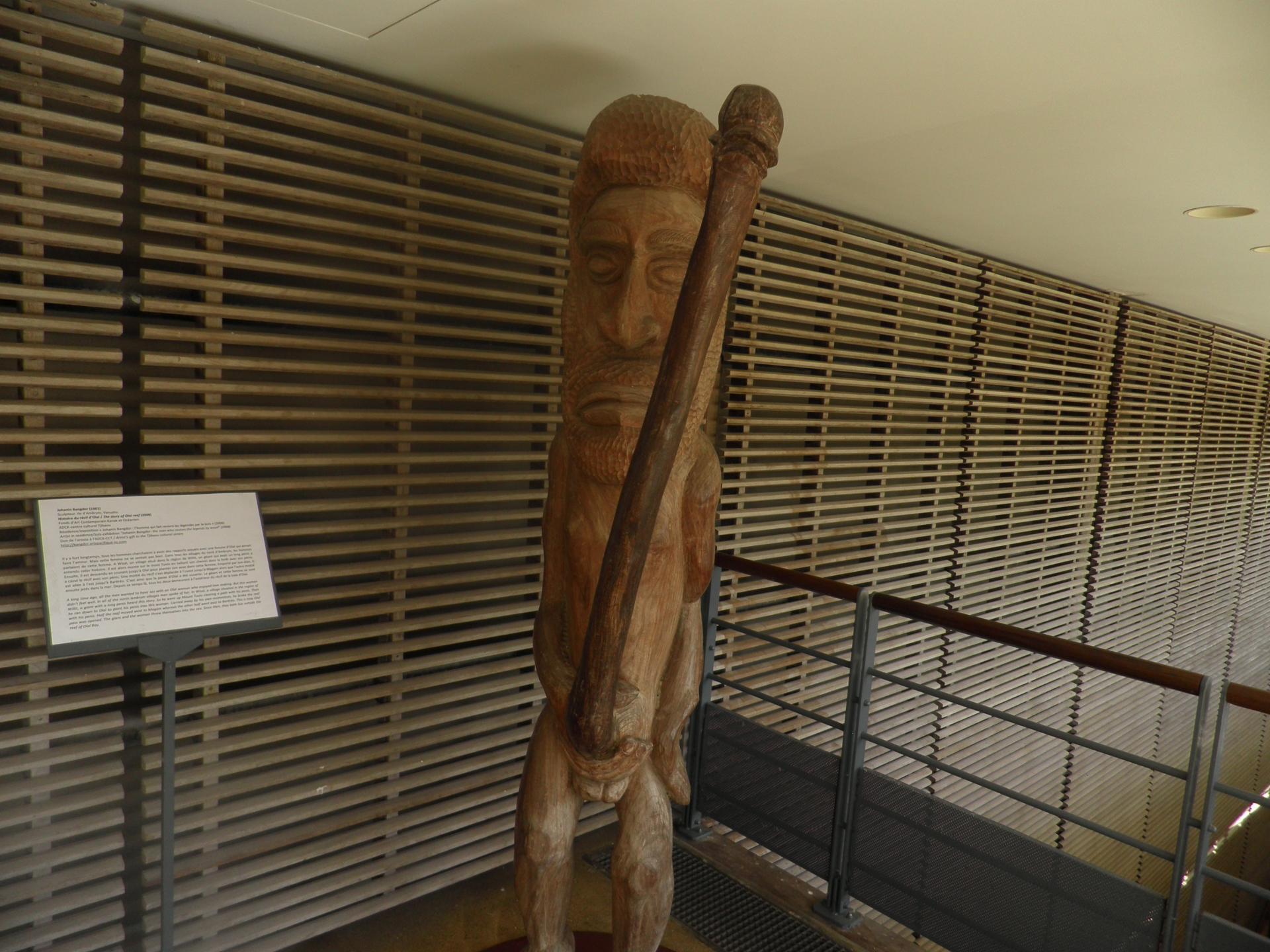 Kanak, Centre culturel Jean-Marie Tjibaou-Photo Fabienne