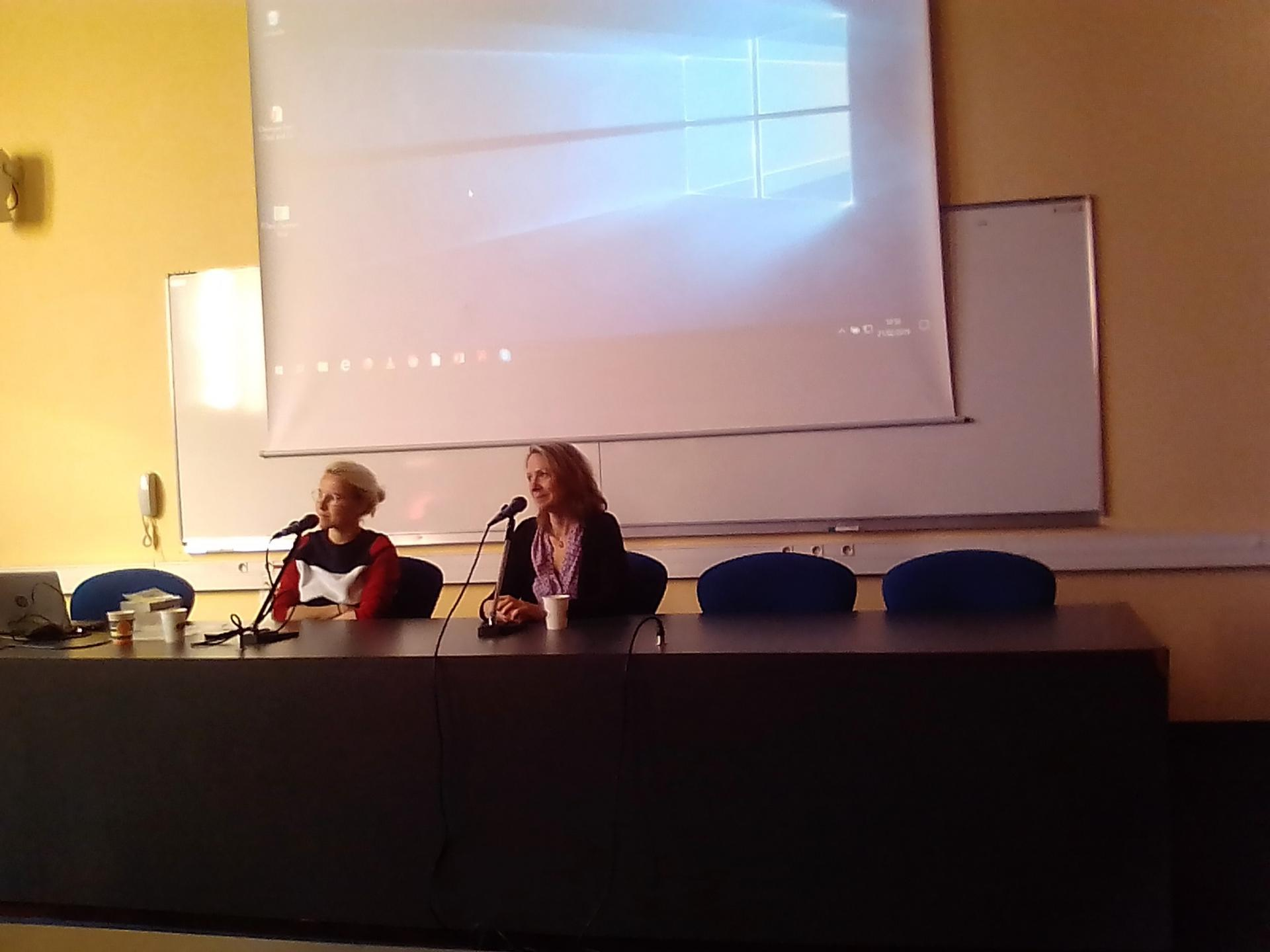 Rencontre à la Maison de l'Homme- Clermont-Ferrand avec l'auteure Gaëlle Nohant en présence de Cécile Coulon