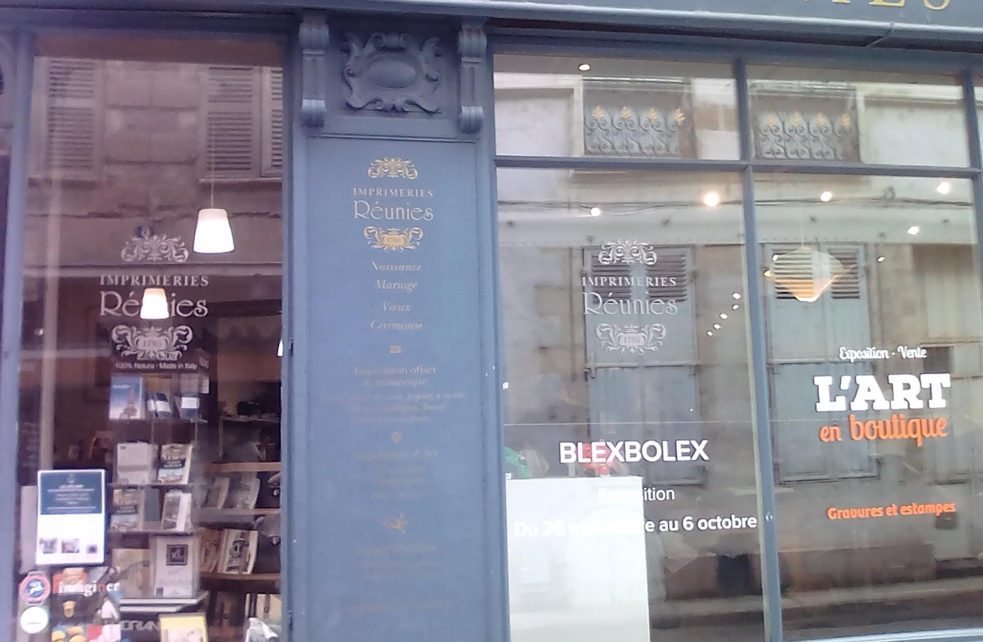 Librairie moulins expo blexbolex
