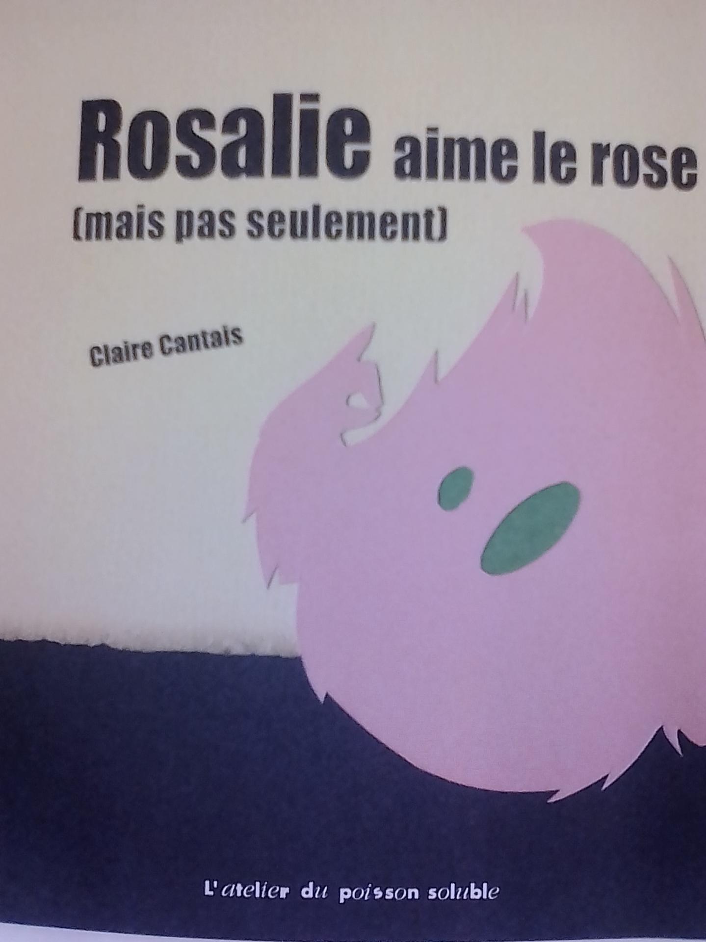 Rosalie aime le rose